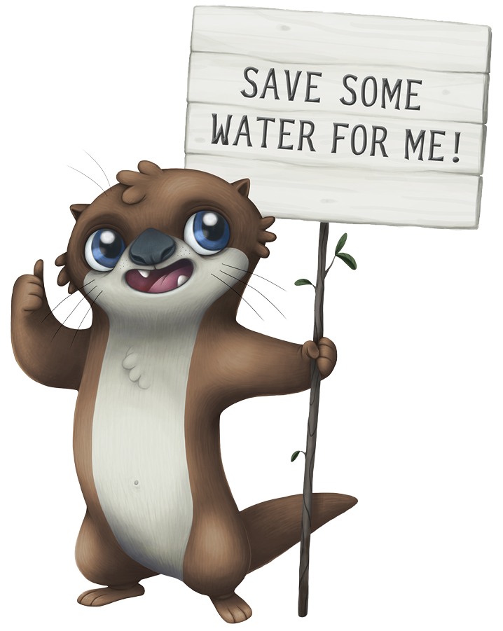 Otis the Otter: Save Some Water For Me!